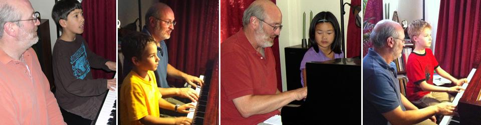 Corey Sevett - piano lessons